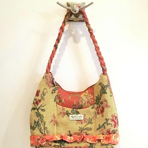 196f12702e April Cornell Handbags - April Cornell Isabella s Journey fabric purse
